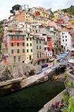 Riomaggiore village Stock Image
