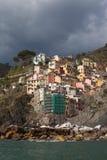 Riomaggiore village, Italy. Royalty Free Stock Image