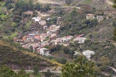 Riomalo de Arriba Village, Las Hurdes στοκ εικόνες