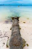 Riool in overzees stock afbeelding