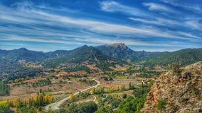 Riopar landskap arkivbild