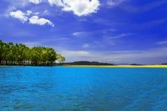 Rios de Myanmar. Pak Chan. Fotografia de Stock Royalty Free