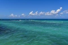 Rios Jamaica de Ocho da vista para o mar fotografia de stock