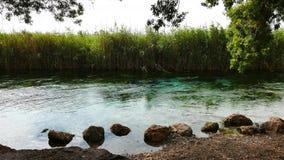 Rios mediterrâneos no outono 21 video estoque