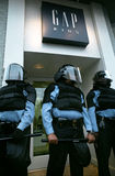 Riot Police Royalty Free Stock Photo