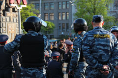Riot Police Stock Images