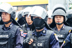 Free Riot Police Royalty Free Stock Image - 40968456