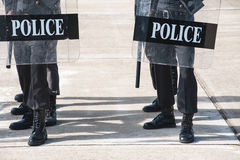 Riot police Royalty Free Stock Photography