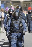 Riot police Royalty Free Stock Photos