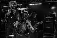 Riot V at Legend Club MI 03-10-2018. Milan, Italy - October 3, 2018: American heavy metal band RIOT V performs at Legend Club. Brambilla Simone Live News stock photo