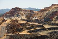 Riotinto mines Royalty Free Stock Image