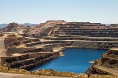 Riotinto mines stock images