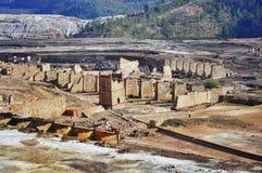 The Riotinto mining area Stock Image
