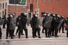 Riots near G20, June 26, 2010 - Toronto, Canada. Royalty Free Stock Photos