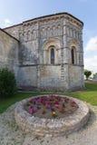 Rioux church abse Royalty Free Stock Photos