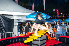 The Rip Curl Summer Carnival 2014 Royalty Free Stock Photography