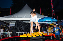 The Rip Curl Summer Carnival 2014 Stock Image