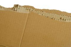 Rip del cartone fotografia stock