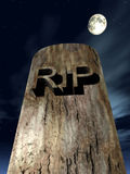 RIP Graves 9. This is a grave Royalty Free Stock Photography