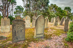 Rip Halloween tombstones Royalty Free Stock Photo