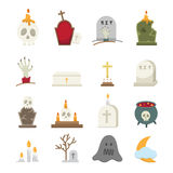 Rip icons. Illustration of rip icons set royalty free illustration