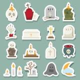 Rip icons. Illustration of rip icons set Royalty Free Stock Image