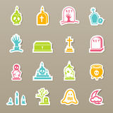 Rip icons set  Stock Image