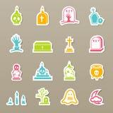 Rip icons set. Illustration of rip icons set Stock Image