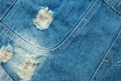 Rip jeans texture background Stock Photo
