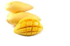 Rip Mango Royalty Free Stock Images
