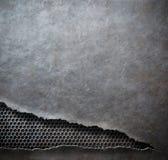 Rip metal grunge background template Stock Photos