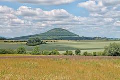 Rip Mountain, central Bohemian region. Czech Republic. Rip Mountain - popular pilgrimage place, central Bohemian region. Czech Republic royalty free stock photography