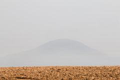 Rip Mountain in fog Stock Images