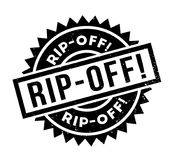 Rip-Off rubber stamp Stock Photography