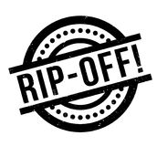 Rip-Off rubber stamp Royalty Free Stock Images