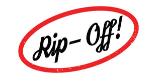 Rip-Off rubber stamp Royalty Free Stock Photo