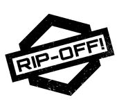 Rip-Off rubber stamp Stock Image