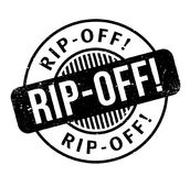 Rip-Off rubber stamp Royalty Free Stock Image