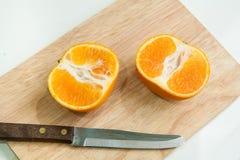 Rip orange Stock Images