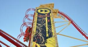 Rip Ride Rockit Roller Coaster Stock Image