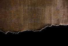 Rip rust metal background with torn edges. Rust grunge metal background with torn edges Stock Images
