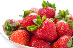 Rip strawberry Royalty Free Stock Image