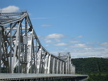 The Rip Van Winkle Bridge. Rip Van Winkle Bridge Upstate NY Royalty Free Stock Images