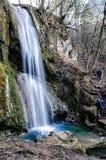 Ripaljka瀑布, Sokobanaja,塞尔维亚 库存照片