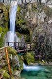 Ripaljka-Wasserfall, Sokobanaja, Serbien Lizenzfreie Stockfotos