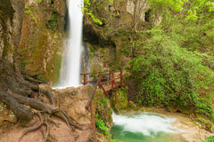 Ripaljka waterfall near Soko Banja Royalty Free Stock Image