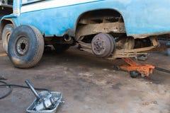 Riparazione del camion Fotografie Stock