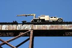 Riparazione del cavalletto del treno Fotografia Stock Libera da Diritti