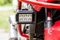 Riparazione del meccanico del motociclo immagine stock libera da diritti