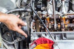 Riparazione del motore Immagine Stock